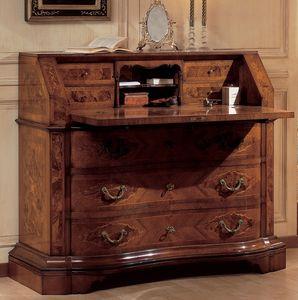 Art. 2080, Cabinet en bois, avec finition antique, avec capote