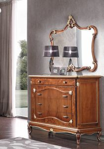 Art. 3128, Commode avec fa�ades en bruy�re