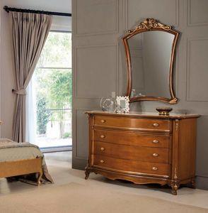 Art. 3566, Commode en bois 4 tiroirs