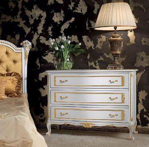 Art. 357/L, Commode en bois d�cor�, style classique