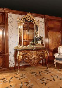 Art. 399, Poitrine incrust� de tiroirs pour des chambres luxueuses, avec miroir or