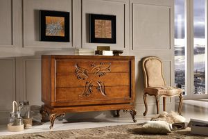Art. 770, Commode incrust� � la main, �quip� de 3 tiroirs