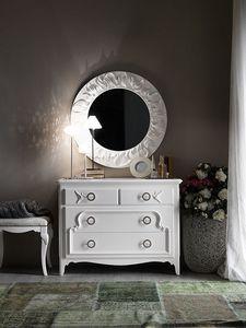 Art. AX724, Coffres en bois de tiroirs avec de l'artisanat, de style provençal