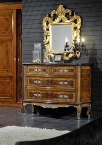 Barocco commode, Commode de style classique en bruyère
