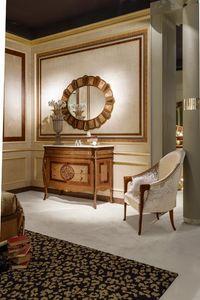 CO20 Arts commode avec plateau en marbre, Commode de style avec dessus en marbre id�al pour villas