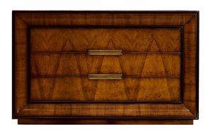 D'Orsay CH.0551, Commode, en bois de noyer, 3 tiroirs