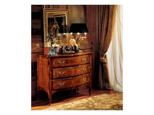 Gardenia chest of drawers 822, Luxe Commode de style pour chambre