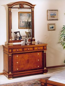 IMPERO / Chest of drawers, Commode avec des finitions de luxe, style classique