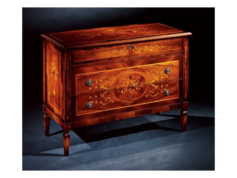 Maggiolini chest of drawers 701, Poitrine luxe classique de tiroirs