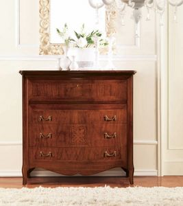 Olympia commode, Commode avec marqueterie cordage, luxe classique