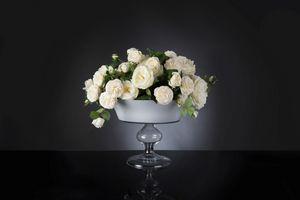 Camilla Roses, Composition de roses blanches