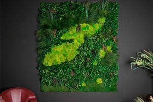 Cansiglio, Panneau décoratif dans de vraies plantes