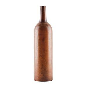 Decor 00270, Bouteille décorative en bois
