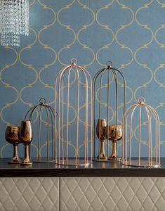 GRID, Cage métallique décorative