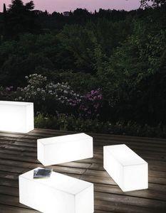 LT 2756, Compléments meubles, polycarbonate banc, lumière intérieure