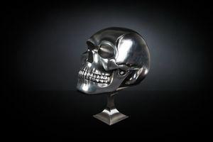 Teschio, Crâne décoratif en céramique