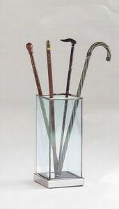 Glass, Porte-parapluie en verre et l'acier, maison et le bureau