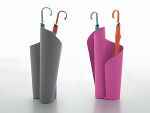 NARCISO, Métal porte-parapluie, avec un design raffiné