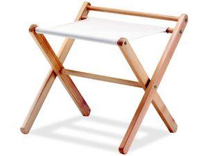 Portavalige P, Valise tenir en bois de hêtre et de matériau en tissu