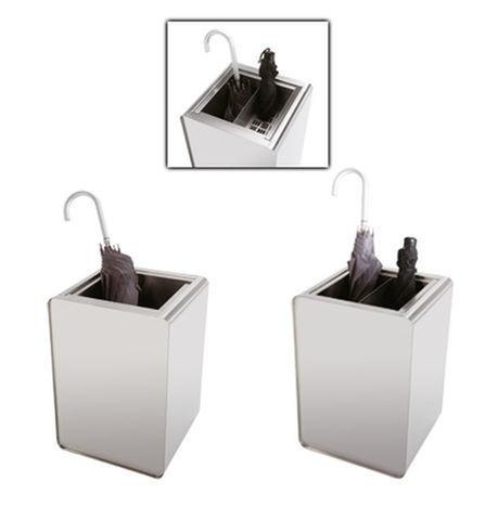 Prisma, Accessoires en acier utilisés comme parapluies, des paniers ou des boîtes à fleurs