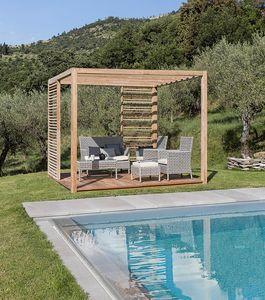 Saint Tropez 0807, Gazebo en bois