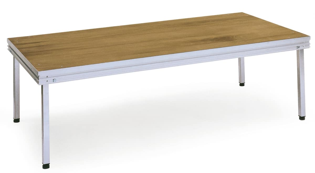 Praktikus, Plate-forme agrégée avec les jambes amovibles, pour une utilisation extérieure