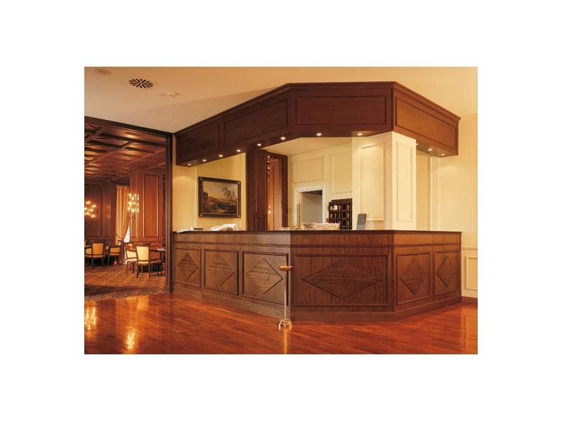Regency Hotel Reception, Comptoir d'accueil des hôtels, des meubles de l'artisanat