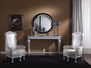 717 CONSOLE TABLE, Table console avec tiroir adapté pour les environnements résidentiels classiques