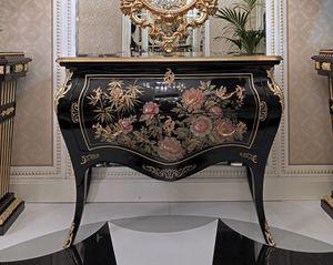 ART. 3011, Trumeau avec des décorations peintes à la main