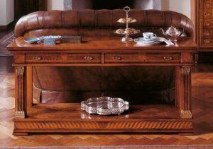 Art. 776/BF, Consolle avec deux étagères en bois, style classique