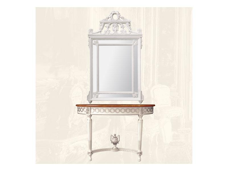 Console art. 207, Consolle avec plateau en marbre de style Louis XVI