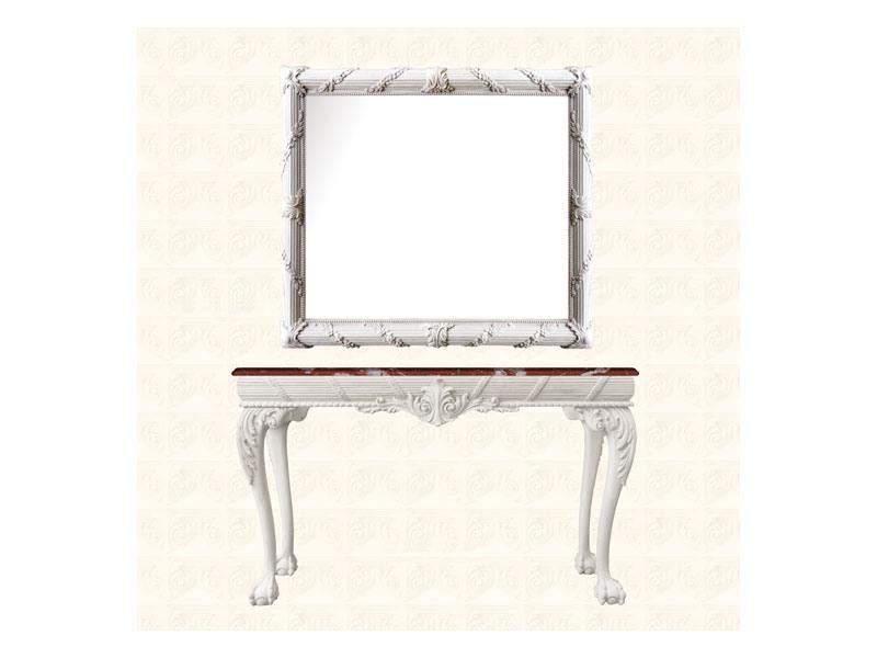 Console art. 260, Table d'appoint en bois, style anglais d'époque géorgienne