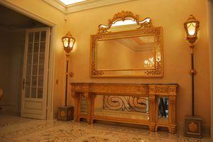 CONSOLE ART. CL 0061, Néoclassique console sculptée, des hôtels et villas