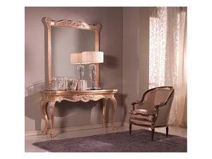 Consolle + Mirror, Consolle et miroir, style vénitien