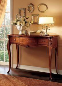 Elite table console, Console en bois idéal pour les environnements de luxe classiques