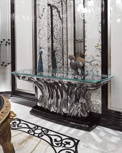 FICUS Consolle, Console en verre de luxe