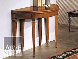 Canaletto Console, Console transformable en une table ovale