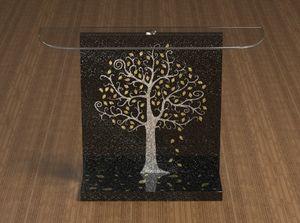 Klimt, Console à décor Klimt