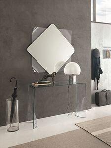 LYNX COC06, Console de verre incurvé et miroir pour les environnements modernes