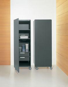 ROLLERBOX comp.02, Récipient vertical pour le bureau et la maison