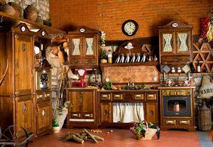 Art. 453, Cuisine rustique avec des appareils