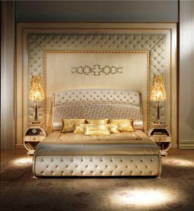 BOIS04, Luxe classique boiserie, en touffe, décoration en relief