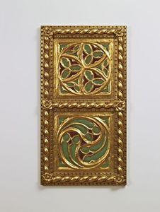 PANNEAU DÉCORATIF ART. AC 0009 , Panneau décoratif en or, dans un style classique