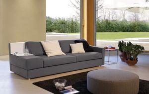 Brio, Canapé avec différentes tailles, pour les salles d'attente et les bureaux