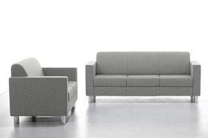 Comfy 02 03, Canapé d'attente avec dossier confortable