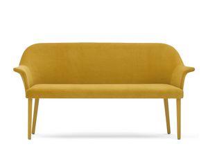 Grace 03451 - 03452, Canapé en mousse, assise avec ceintures, avec pieds
