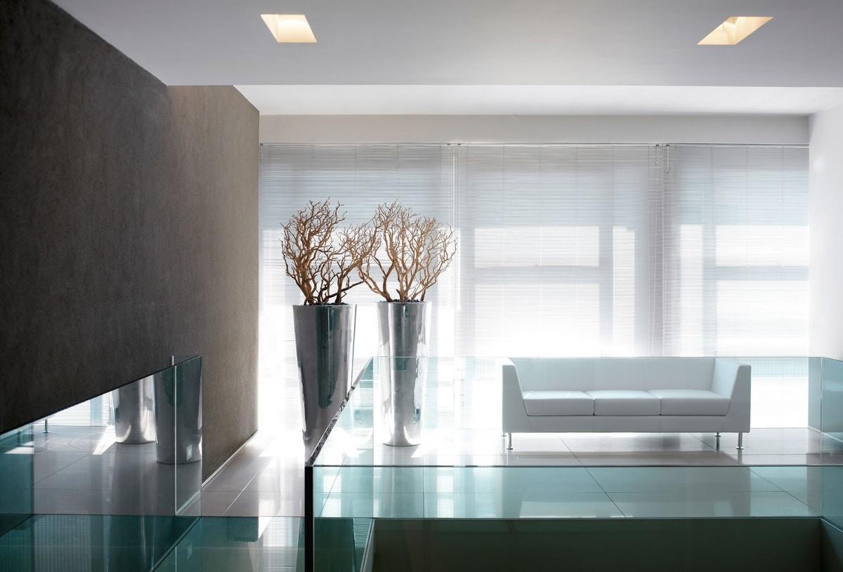 NAXOS, Canapé avec un design épuré et se termine au plus haut niveau, pour le salon et le bureau