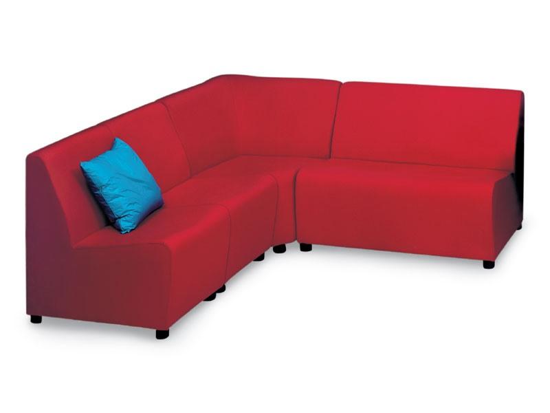 PL STELLA, Canapé modulable moderne, pour l'étude et le bureau