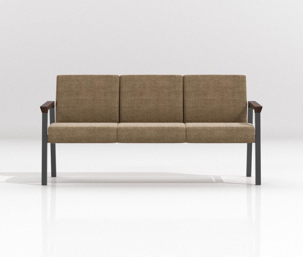String Bench 3P, Sièges modulaires pour les espaces de détente