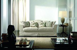 Amarcord, Canapé classique avec coussins personnalisables